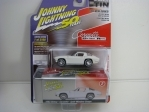 Chevrolet Corvette Sting Ray 1963 White with Storage Tin 1:64 Johny Lightning